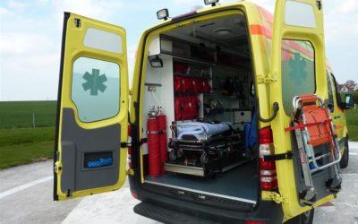 Muž u Cvilínského nádraží spadl z kola a zranil se