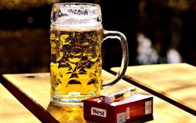 Spotřeba alkoholu a tabáku v České republice je stále vysoká