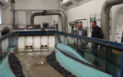 Fyzikální modely objektů přehradní nádrže Nové Heřminovy potvrdily její bezpečnost a spolehlivost
