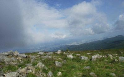 Výstup na Králický Sněžník je plný skvělých panoramat