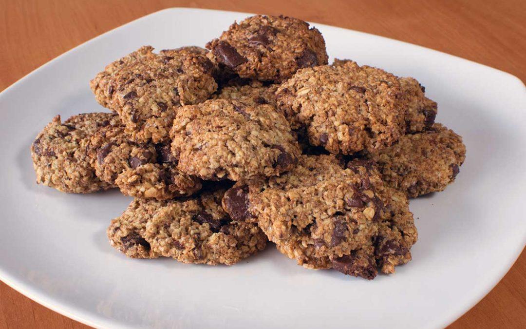 Nepřekonatelné ovesné sušenky