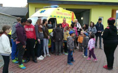 Děti v Krnově a ve Vrbně se seznámily s činností záchranářů