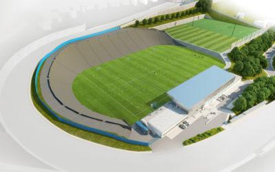 Fotbalový areál na Bazalech bude po rekonstrukci sloužit mladým hráčům