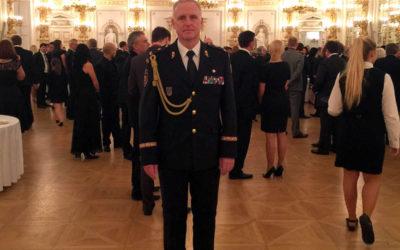 Ředitel moravskoslezských hasičů Vladimír Vlček je generálem, jmenoval ho prezident ČR
