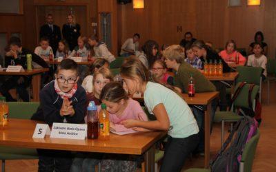 Děti se soutěžní hrou učily s Honzíkem