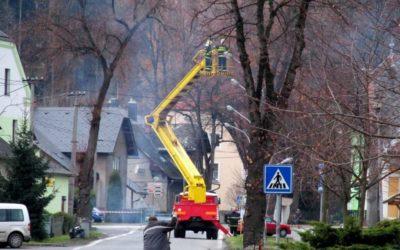 Jesenická ulice ve Vrbně bude o víkendu uzavřená