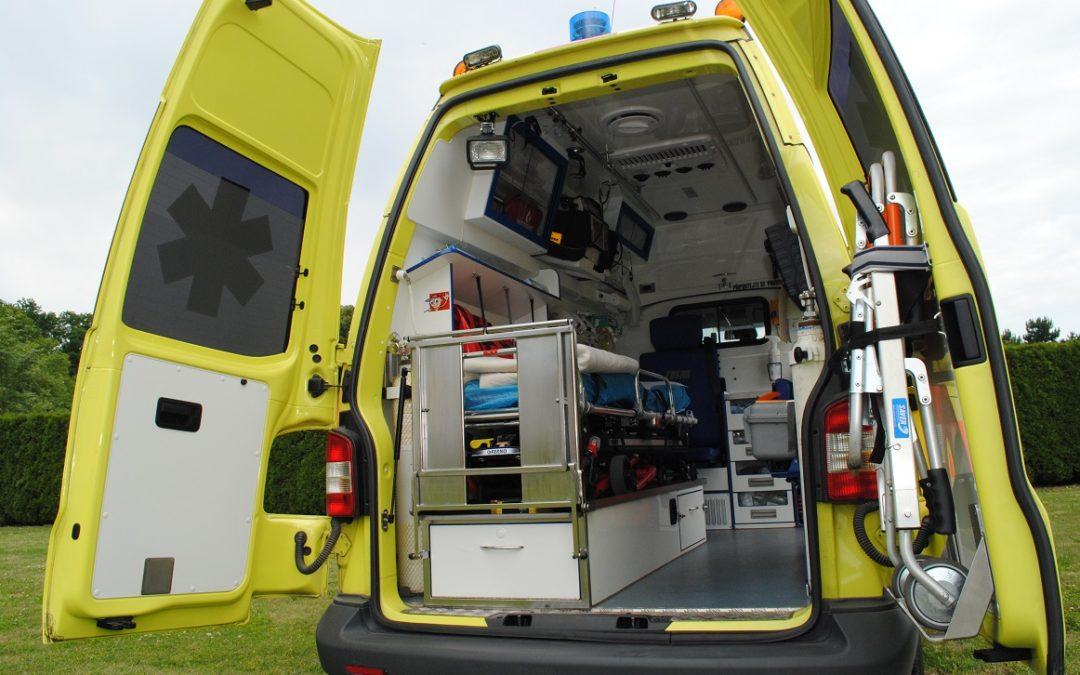 Cyklistka v Bruntále srazila sedmiletého chlapce, ten je vážně zraněný