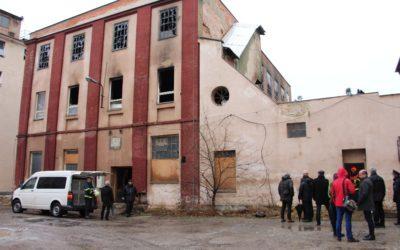 Požár národní kulturní památky nejspíš zničil plány na vybudování textilního muzea v Krnově