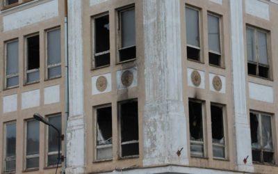 Požár způsobil škody v bývalé textilce v Krnově, restaurátoři posoudí míru poškození