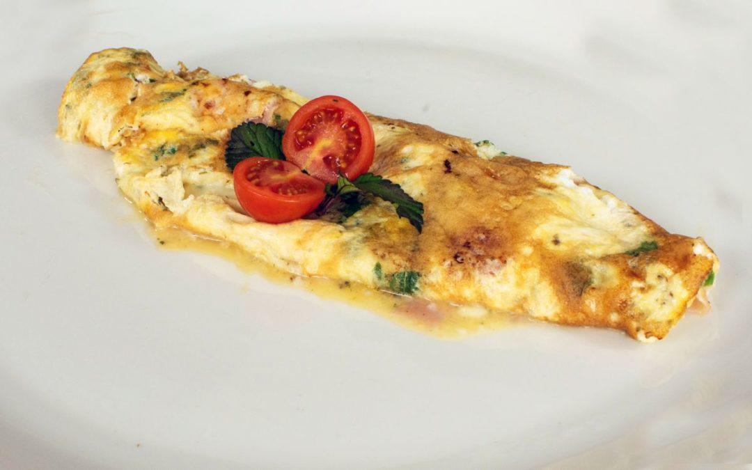 Omeleta s přívlastkem luxusní