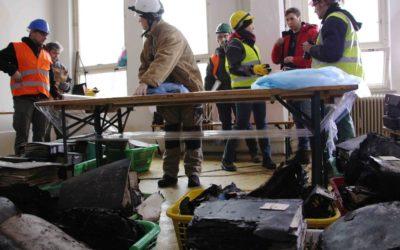 Záchranné práce památkářů skončily, na řadu přichází stavba
