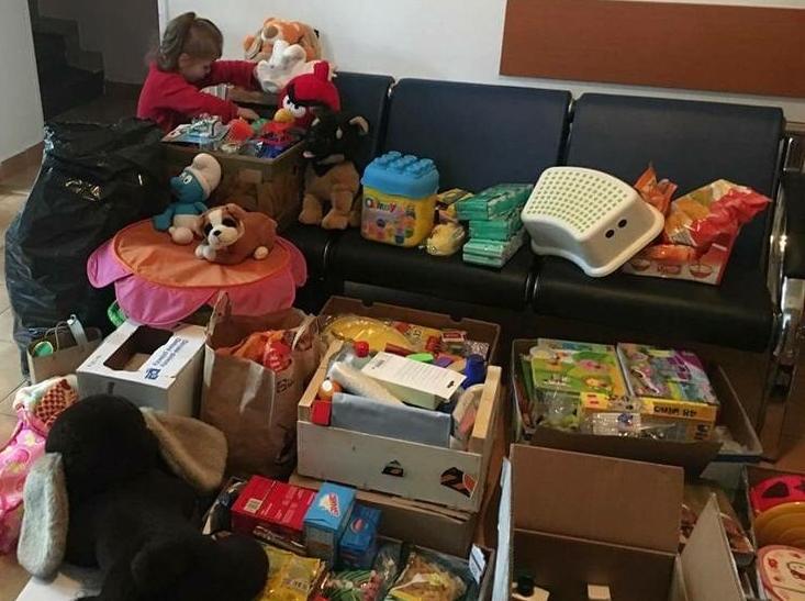Studentky vymyslely a zorganizovaly charitativní sbírku