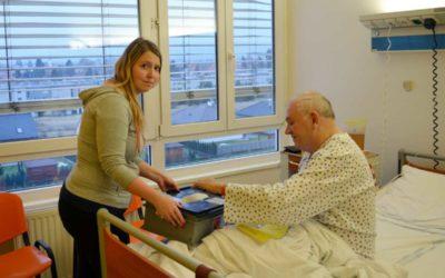 Pacienti v Podhorské nemocnici budou prezidenta volit v sobotu a přímo z lůžka
