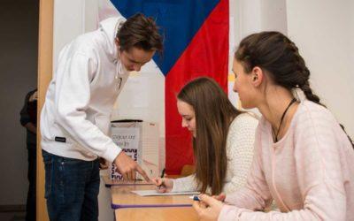 V Moravskoslezském kraji studenti volili Jiřího Drahoše