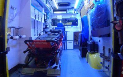 Silně podnapilý cyklista skončil v krnovské nemocnici