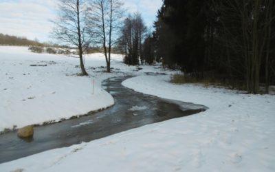 Revitalizace Mudlového potoka bude pokračovat v jarním období