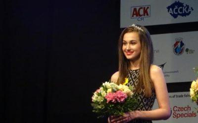 Studentka Michaela Petrečková získala druhé místo, na veletrhu prezentovala Krnov