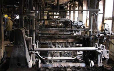 Stroje z vyhořelé Karnoly budou opraveny