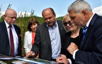 Zátor navštívil ministr zemědělství, zajímal se o protipovodňovou ochranu