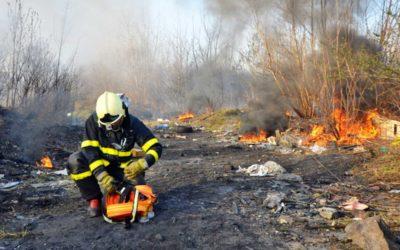 Pozor na podzimní pálení listí a klestí, hrozí požáry