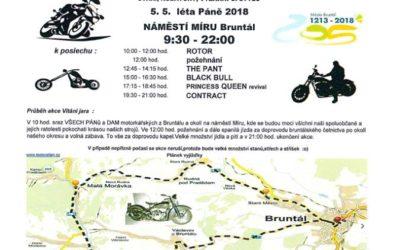 Motorkáři v Bruntále přivítají jaro