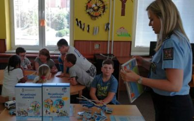 Nová policejní hra je určena dětem mateřských i základních škol