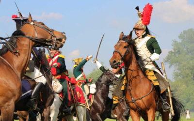 FOTO: V Háji ve Slezsku se střetlo přes 200 historických vojáků