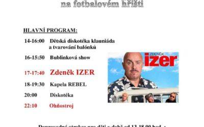 Den obce ve Václavově u Bruntálu přinese Zdeňka Izera a kapelu Rebel