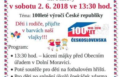 Dětský den v Dolní Moravici proběhne ve stylu výročí Československa