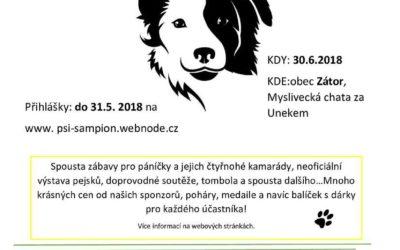 Kdo se stane Zátorským psím šampionem 2018?