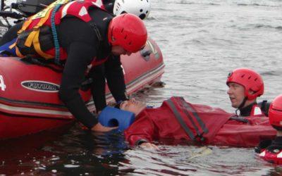 Vítězem vodní záchranné Slezské Harty 2018 jsou profesionální hasiči z Chebu