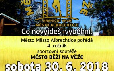 Město Albrechtice pořádá 4. ročník soutěže Město běží na věže