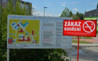 Od července platí zákaz kouření v areálech Sdruženého zdravotnického zařízení Krnov