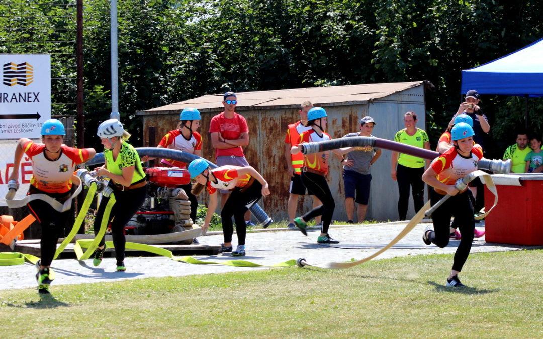 V Leskovci nad Moravicí závodili hasiči, konala se tam pohárová soutěž