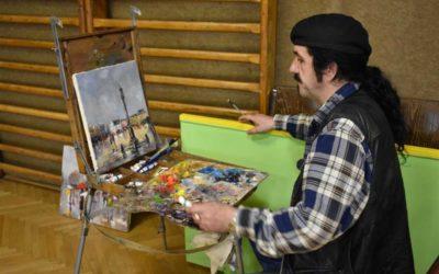 Malíři přenesli krásy Bruntálu na svá plátna