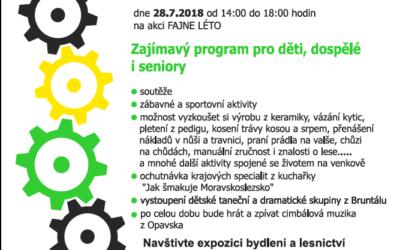 Technotrasa – fajné léto 2018 nabízí zajímavý program pro děti, dospělé i seniory