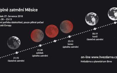 Na nebi se odehraje divadlo, čeká nás úplné zatmění Měsíce