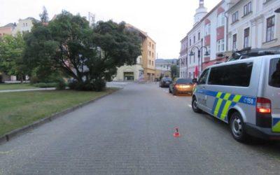 Policie žádá o pomoc svědky dopravní nehody