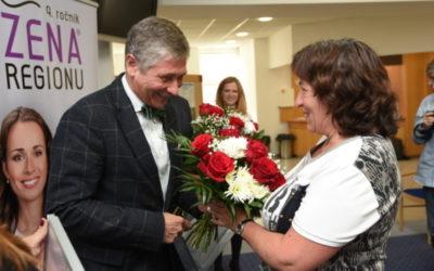 Vítězkou devátého ročníku ocenění Žena regionu se stala Dana Meca Franková, zakladatelka centra Heda v Bruntále