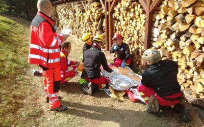 Moravskoslezští záchranáři zvítězili v soutěži Yeti Rescue