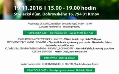 V Krnově proběhne konference o duševním zdraví