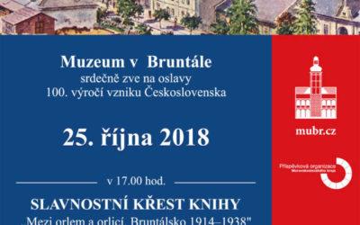 Muzeum v Bruntále zve na oslavy 100. výročí vzniku Československé republiky