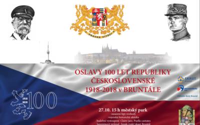 Oslavy 100 let republiky v Bruntále ukončí ohňostrojem
