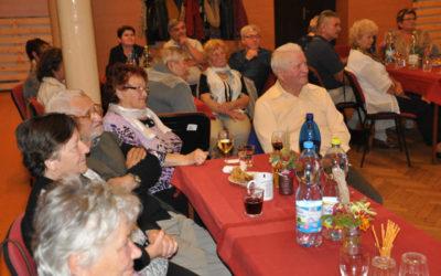 Podzimní setkání seniorů v Třemešné se vydařilo