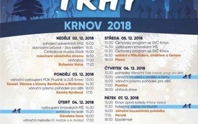 Novinkou adventních trhů v Krnově bude kluziště a videomapping