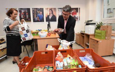 Krajská potravinová sbírka: přes 11,3 tuny jídla pro chudé