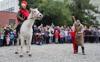 Do Krnova přijel svatý Martin na bílém koni