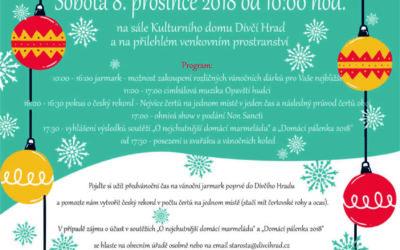 V Dívčím Hradě připravují Vánoční jarmark