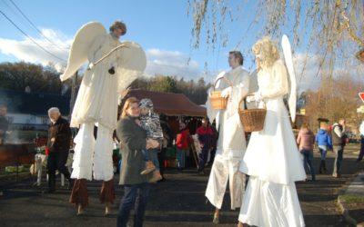 Historicky první Vánoční jarmark v Dívčím Hradě se vydařil
