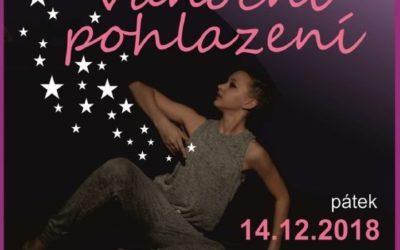 Žákyně tanečního oboru ZUŠ Rýmařov připravily vánoční taneční koncert